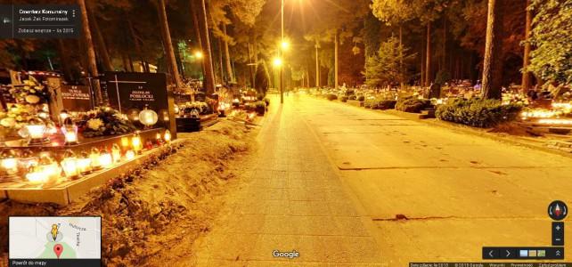 Wirtualny spacer po Cmentarzu Komunalnym w Rumi