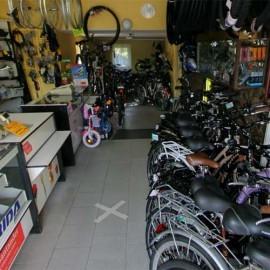 Wirtualny spacer po sklepie rowerowym i wędkarskim