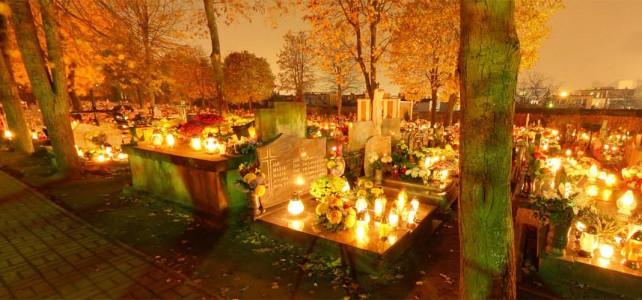 Rekomendowany fotograf google stret view po cmentarzu 1-2 listopada