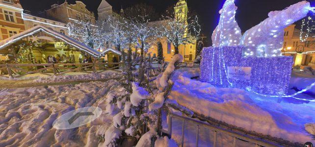 Plac Jakuba Wejhera świąteczna wersja