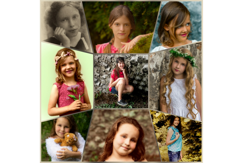 Sesja zdjęciowa dziecięca